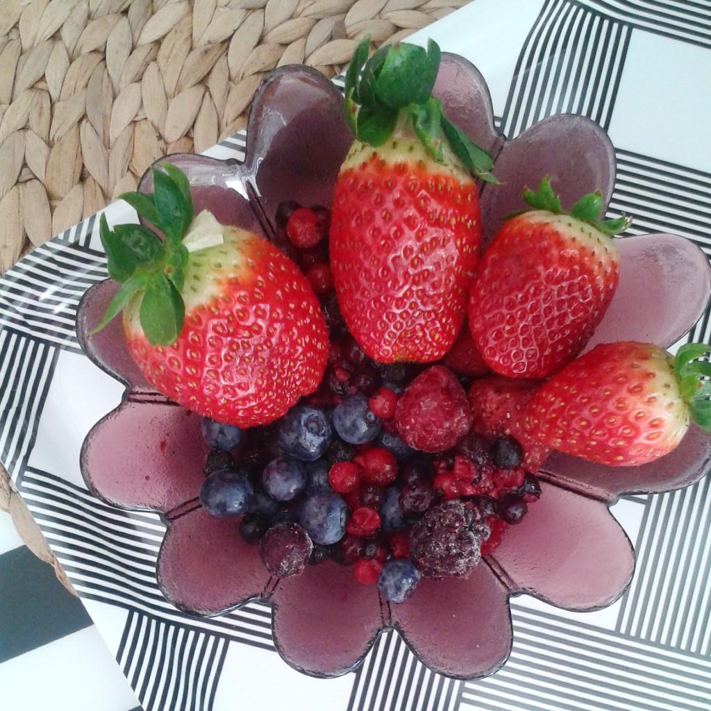 Obst über Obst