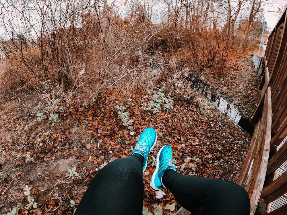 Gesunde und schöne Läuferfüße