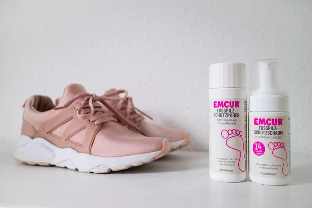 Fußpilz vorbeugen